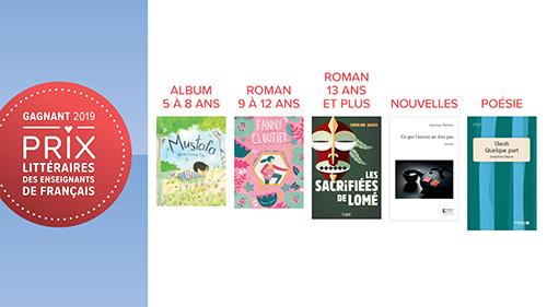 Laureats Des Prix Litteraires Des Enseignants De Francais